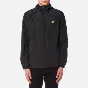 Lyle & Scott Men's Zip Through Hooded Jacket - True Black