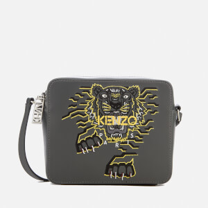 KENZO Men's Actua Tiger Bag - Anthracite