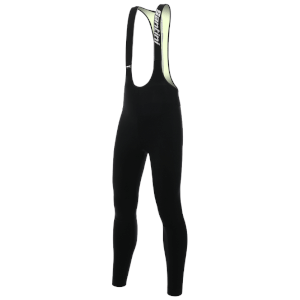 Santini Vega 2.0 Aquazero Bib Tights - Black/Yellow