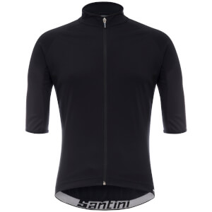 Santini Beta Light Wind Jersey - Black