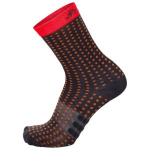 Santini Tono 2 Medium Qskins Socks - Red
