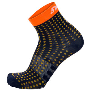 Santini Giada Low Dryarn Socks - Orange