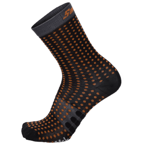 Santini Tono Aero Light Medium Socks - Grey