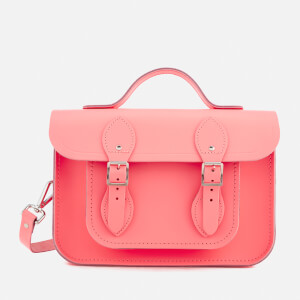 The Cambridge Satchel Company Women's 11 Inch Batchel - Neon Coral