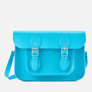 The Cambridge Satchel Company Women's 11 Inch Satchel - Neon Blue