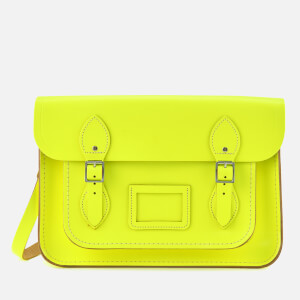 The Cambridge Satchel Company Women's 13 Inch Satchel - Fluoro Yellow
