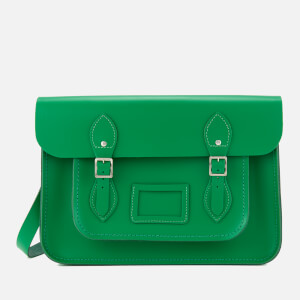 The Cambridge Satchel Company Women's 14 Inch Satchel - Green