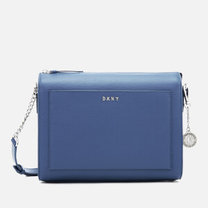 DKNY Women's Bryant Medium Box Cross Body Bag - Blue Jay