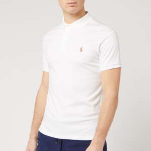 Polo Ralph Lauren Men's Slim Fit Pima Polo Shirt - White