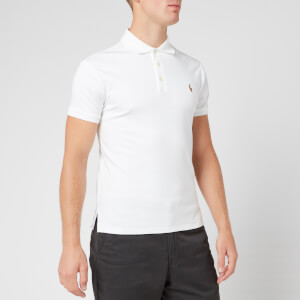 Polo Ralph Lauren Men's Slim Fit Soft-Touch Polo Shirt - White