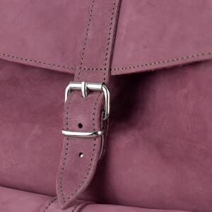 MyBag x Grafea Exclusive Women's Hari Nubuck Backpack - Burgundy: Image 8