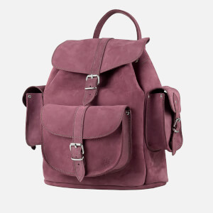 MyBag x Grafea Exclusive Women's Hari Nubuck Backpack - Burgundy: Image 2