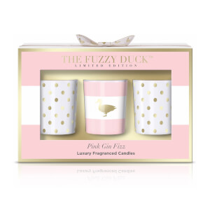 Baylis & Harding Fuzzy Duck Pink Gin Fizz 3 Candle Set