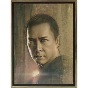 Star Wars: Timeless Print Series - Chirrut Imwe by Acme Archive's Artist Jerry Vanderstelt (Framed)