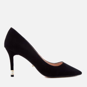 Dune Women's Brioney Suede Court Shoes - Black