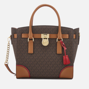 MICHAEL MICHAEL KORS Women's Hamilton Large East West Satchel - Signature