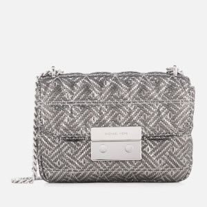 MICHAEL MICHAEL KORS Women's Sloan Small Chain Shoulder Bag - Silver