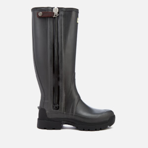 Hunter Men's Balmoral Tech Zip 3mm Neoprene Wellies - Slate