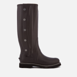Hunter Men's Balmoral Side Zip Wellington Boots - Bitter Choc