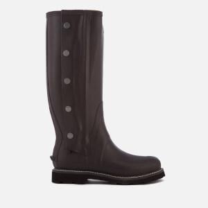 Hunter Men's Balmoral Side Zip Wellington Boots - Bitter Choc