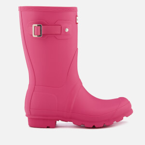 Hunter Women's Original Short Wellies - Bright Cerise