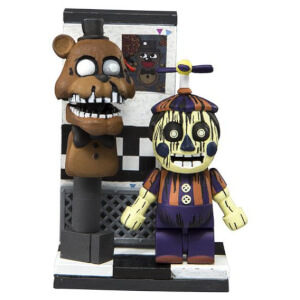 McFarlane Five Nights At Freddy's Office Hallway With Phantom Balloon Boy (Micro Set)