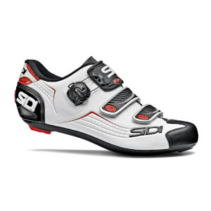 Sidi Alba Road Shoes - White/Black/Red