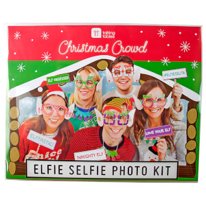 Christmas Elfie Selfie Photo Kit from I Want One Of Those