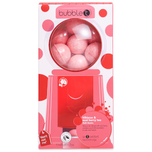 Bubble T Candy Machine Bath Fizzers - Red 200g