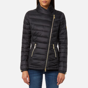Barbour International Women's Jurby Quilt Jacket - Black