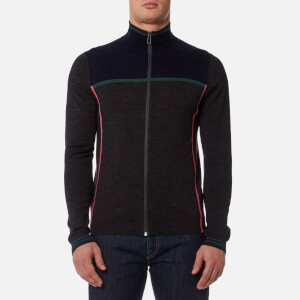 PS by Paul Smith Men's Zip Cardigan - Navy/Grey