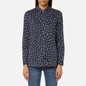Barbour Women's Faeroe Shirt - Navy/White Beacon