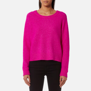 Samsoe & Samsoe Women's Nor O Neck Jumper - Pink
