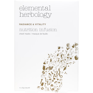 Máscaras Nutrition Infusion da Elemental Herbology - 4 x 25 g