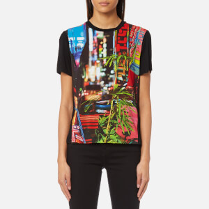 PS by Paul Smith Women's City Lights Print T-Shirt - Multi