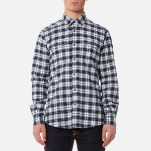 Barbour Men's Whitehall Check Shirt - Chambray