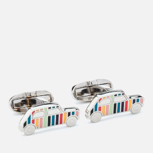 Paul Smith Men's Mini Car Cufflinks - Stripe