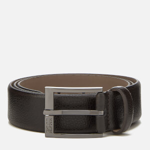 BOSS Black Men's Elloy Belt - Dark Brown