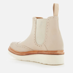 Grenson Women's Alice Leather Chelsea Boots - Natural: Image 2