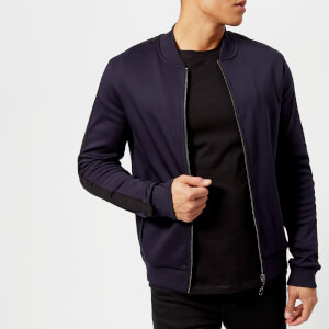 HUGO Men's Dacido Bomber Sweatshirt - Navy