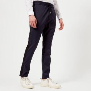 HUGO Men's Himesh Tape Detail Trousers - Navy