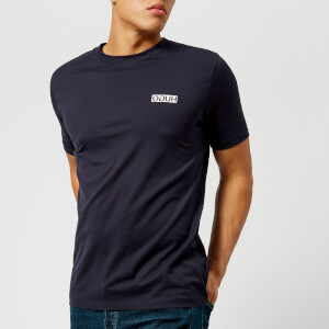 HUGO Men's Durned Crew Neck T-Shirt - Navy