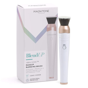 Pinceau de Maquillage Vibra-Sonic BlendUp! Magnitone London – Blanc
