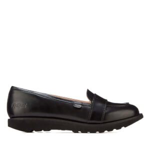Kickers Women's Kick C Lite Strap Loafers - Black