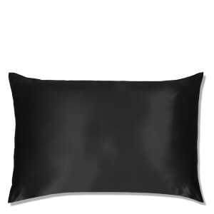 Slip Silk Pillowcase - Queen - Black