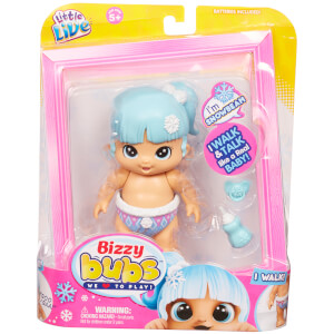 Little Live Bizzy Bubs Walking Baby Snowbeam - Series 1