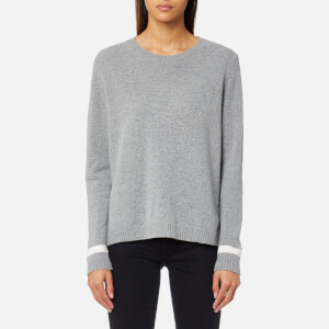 GANT Women's Rugger The Crue Jumper - Grey Melange