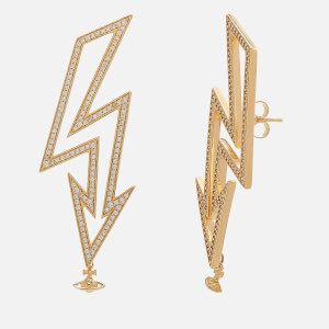 Vivienne Westwood Women's Isadora Earrings - White Cubic Zirconia: Image 1