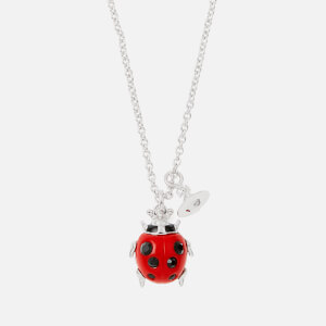 Vivienne Westwood Women's Ladybird Pendant - Red Resin/Black
