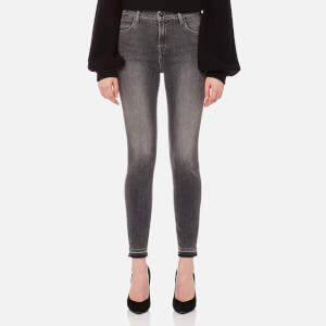 J Brand Women's Alana High Rise Crop Skinny Jeans - Earl Grey